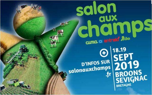 Présent sur le Salon aux champs à Broons (22) le 18 et 19 septembre