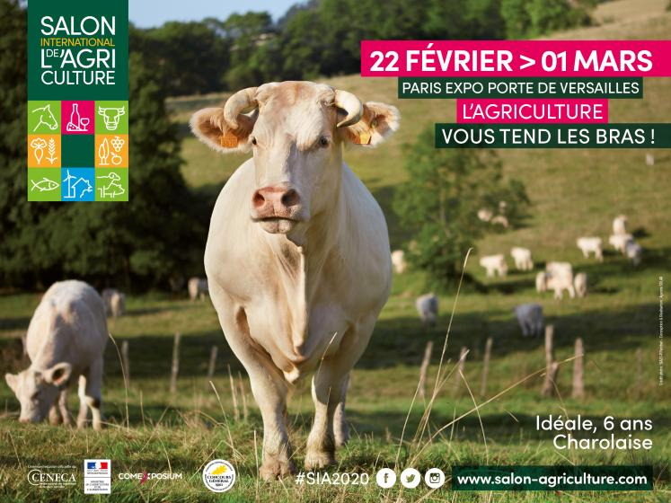 Journée à Paris sur le Salon international de l'agriculture